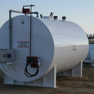 10,000 gallon double wall storage tank with turn key sytem