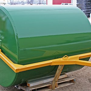custom cylindrical storage tank