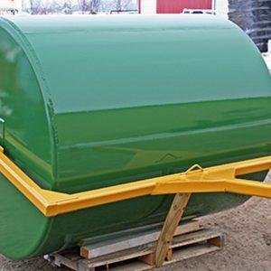 custom cylindrical storage tank