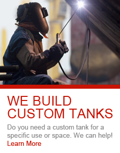 Image of a custom tank being manufactured