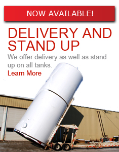 Delivery and stand up delivery option