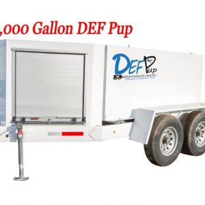 1000 Gallon DEF pup fuel trailer
