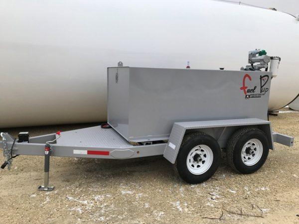 Fuel Pup w/oDEF w/12v 25 gpm pump trailer