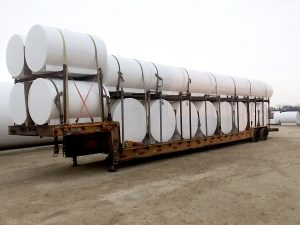 Single wall storage tanks ready for delivery